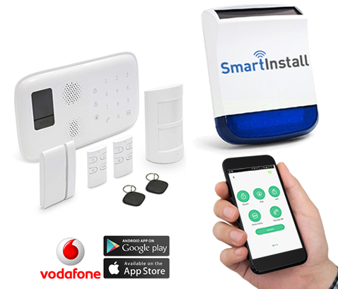 Smart Home Burglar Alarm System Installed