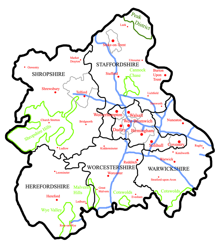 West Midlands Region