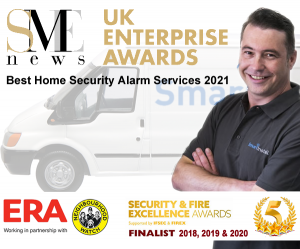 Award Winning SmartInstall burglar alarm install neighbourhood watch 5 star